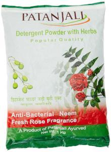 Patanjali Popular Detergent Powder - 1 kg
