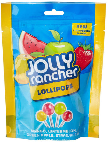 Jolly Rancher Lollipops, 63g
