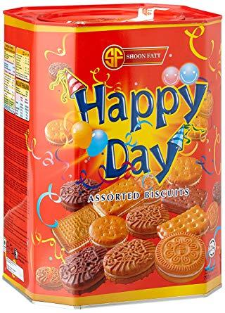 Shoon Fatt Happy Day Assorted Biscuit, 700gm