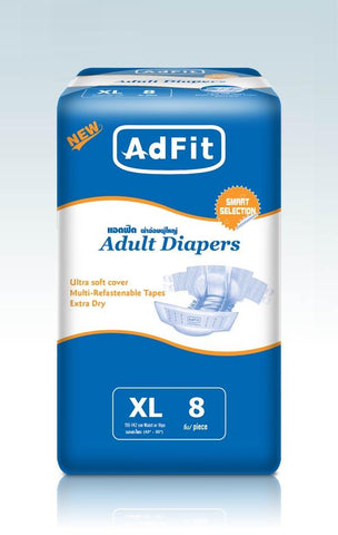 ADFIT ADULT DIAPER XL 8`S - Kirana - Online Shopping Nepal