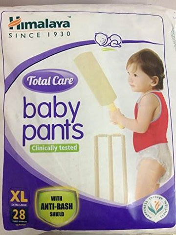 Himalaya Total Care Baby Pants Diapers Extra Large Size(28 Count)