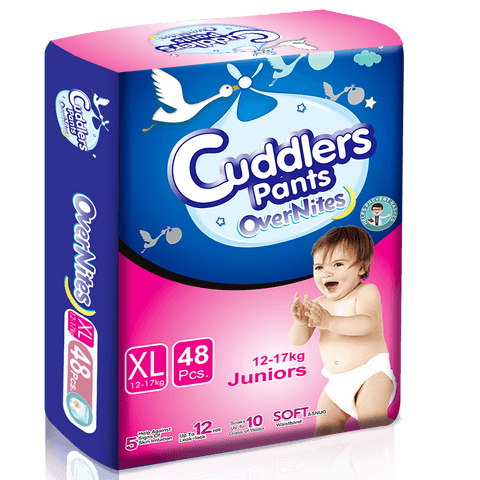 Cuddlers Pants Diapers Eco Pack XL (48 Pcs) -