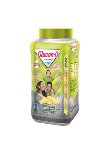 Glucon D Nimbu Pani, 400gm Jar