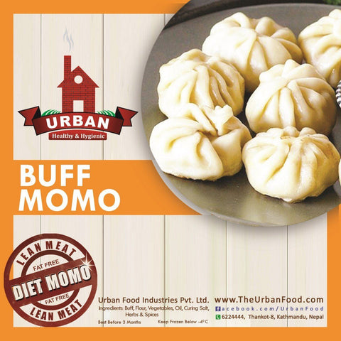 Urban Food : Frozen Buff Momo (30pcs)