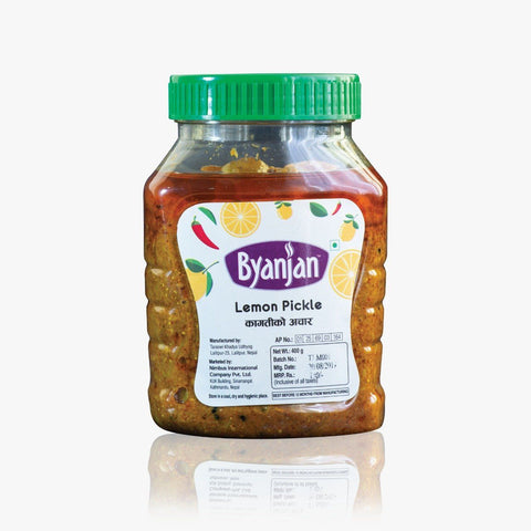 Byanjan Lemon Pickle, 400gm