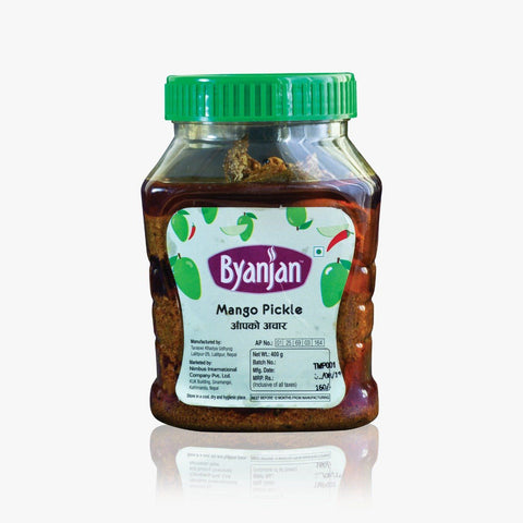 Byanjan Mango Pickle, 400gm