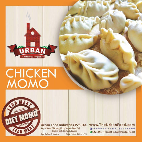 Urban Food : Frozen Chicken Momo (30pcs)