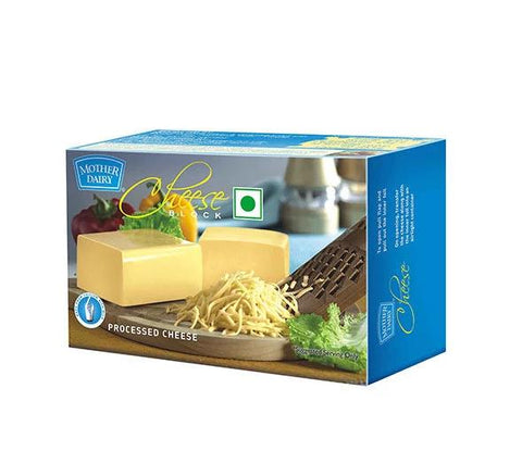 Mother Dairy Cheese Block - 200 gm