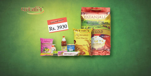 Patanjali Monthly Pack (Gold) - Save Rs 121