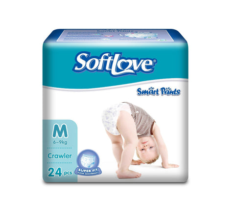 SOFTLOVE PANTS DIAPER M 24 PCS - Kirana - Online Shopping Nepal
