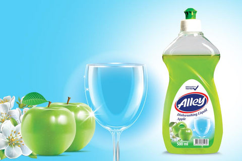 Alley Dishwashing Liquid Apple 500ml - Kirana - Online Shopping Nepal