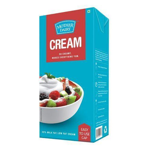 Mother Dairy Fresh Cream, 200ml