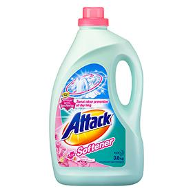 Kao Attack Liquid Detergent Plus Softner 3.6kg - Kirana - Online Shopping Nepal