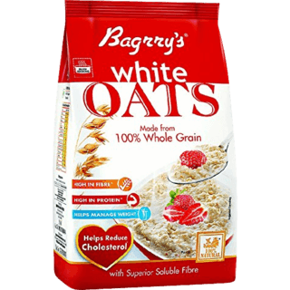 Bagrry's White Oats Pouch 1.5kg - Kirana - Online Shopping Nepal