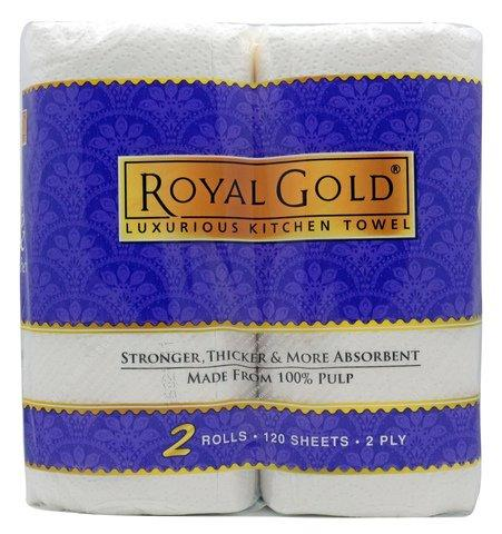 ROYAL GOLD KITCHEN TOWEL 2 ROLL - Kirana - Online Shopping Nepal