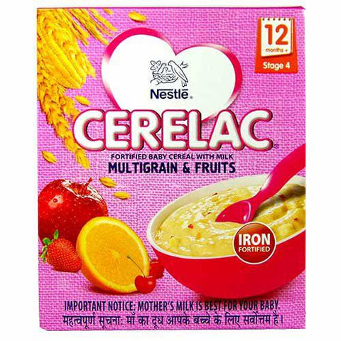 Nestle CERELAC Multi Grain and  FRUITS- Stage 4
