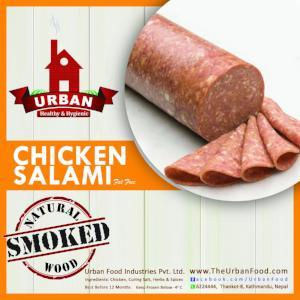 Chicken Salami Roll (Smoked) - 500 gm