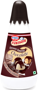 Funfoods Dessert Topping Chocolate 300gm - Kirana - Online Shopping Nepal