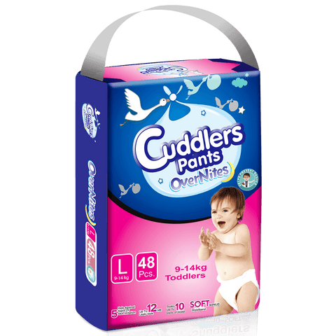 Cuddlers Pants Diapers Eco Pack Large (48 Pcs)