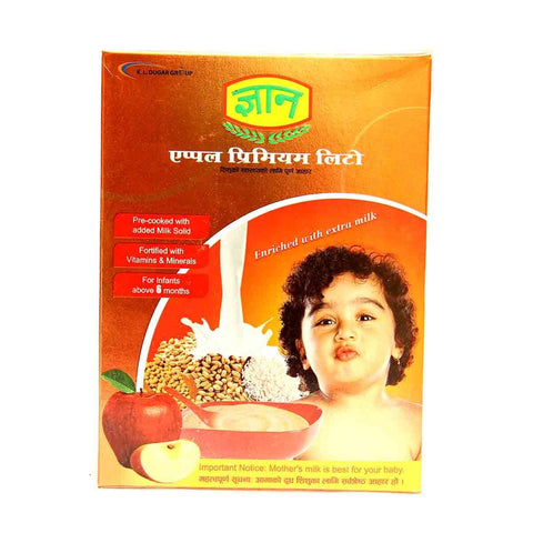 Gyan Premium Litto (Apple Flavor)- 400gm