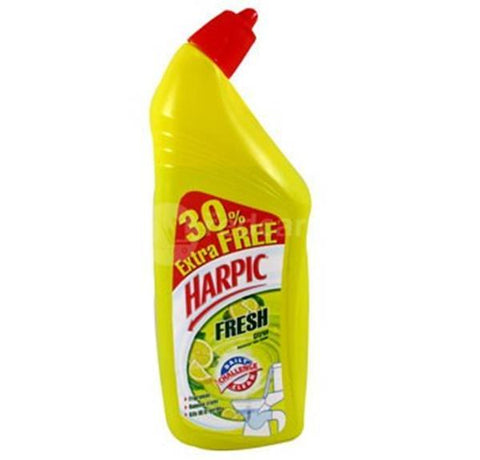 Harpic Toilet Cleaner Citrus, 500ml (30% Extra Free)