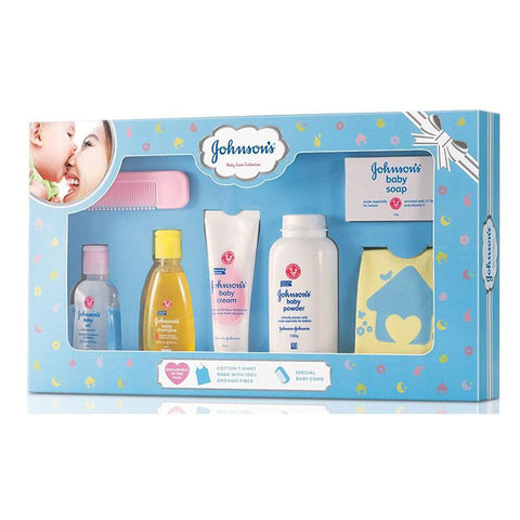 Johnson & Johnson Baby Care Collection- Blue