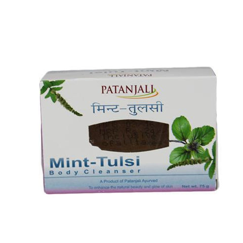 Patanjali Mint Tulsi Body Cleanser - 75 gm