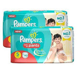 Pampers New Diapers Monthly Pack, Small (80 Count)