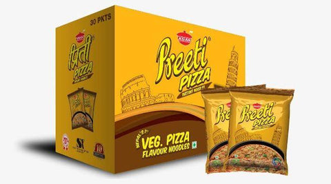 Preeti Veg Pizza-1box