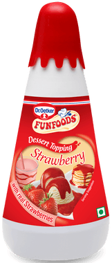 Funfoods Dessert Topping Strawberry 300gm - Kirana - Online Shopping Nepal