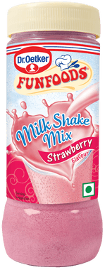Funfoods MilkShake Strawberry Mixes 200gm - Kirana - Online Shopping Nepal