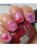 Glitter Collection - Hearts & Roses