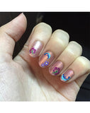 Glitter Collection - Flowers & Dolphins