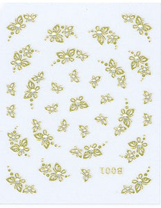 Gold Collection - Butterflies with Designs
