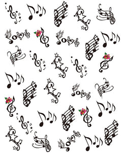 Signature Collection - Musical Notes