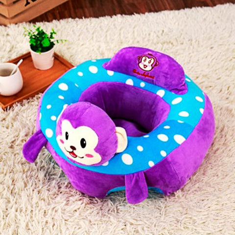 Nice Cute Animal Design Baby Support Sofa Chair