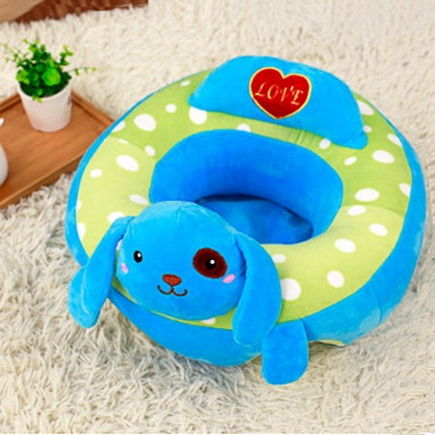 Cute Animal Design Baby Support Sofa Chair