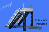 LEGO footbridge for train station or road railway bridge train set - andagift