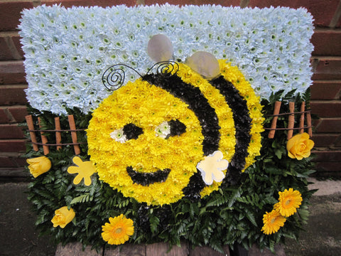 Busby Bee Floral Tribute