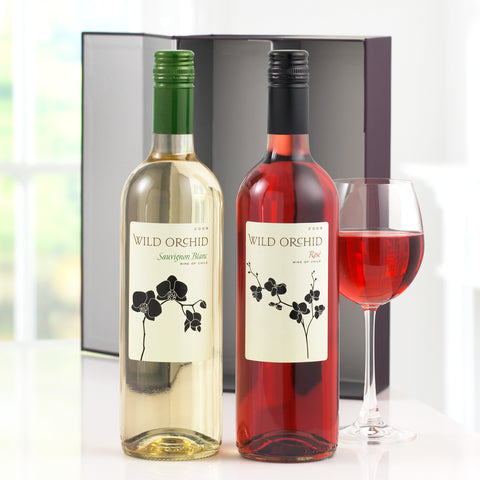 Wine Duo – Rose & White