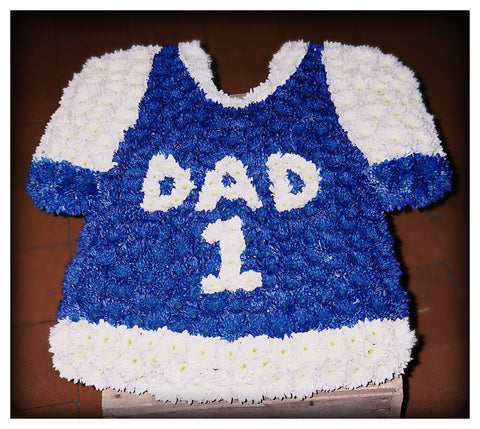 Dad Football Shirt - Ramsbothams Florists Milton Keynes