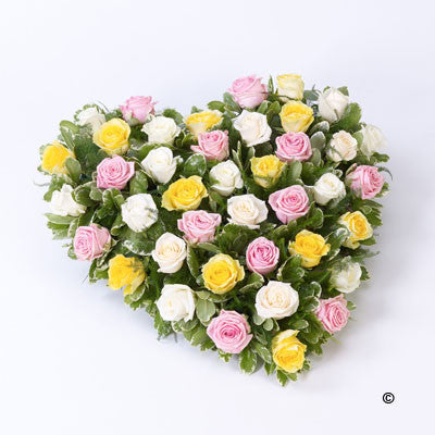 Rose Heart - - Ramsbothams Florists Milton Keynes
