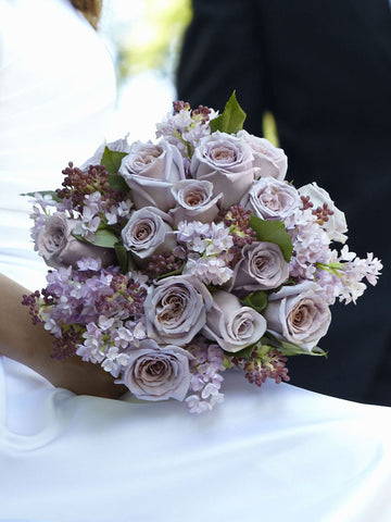 Soft Lilac Bouquet - Ramsbothams Florists Milton Keynes