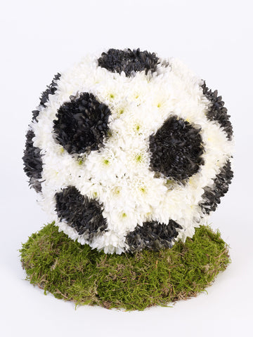 Football Tribute - Ramsbothams Florists Milton Keynes