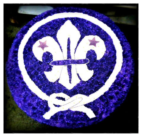 Scout badge - Ramsbothams Florists Milton Keynes
