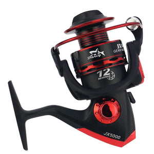 Metal Spool Spinning Fishing Reel