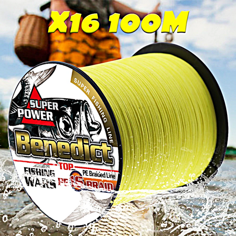 Image of super-hollowcore-braided-fishing-line-x16-100m