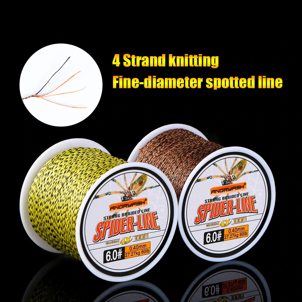 4-Strand Strong Braided Fishing Line