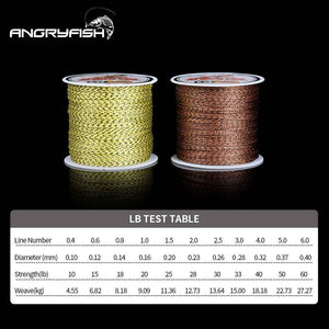 100m PE Braided Fishing Line