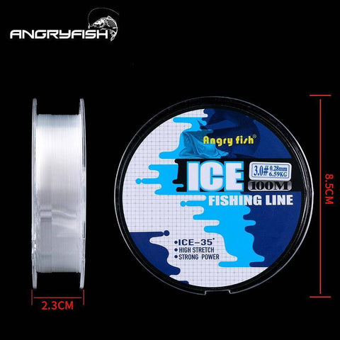 Image of Winter Fishing Nylon Line  100m